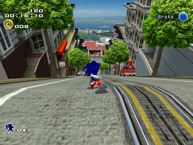 Sonic Adventure... Knuckles Game