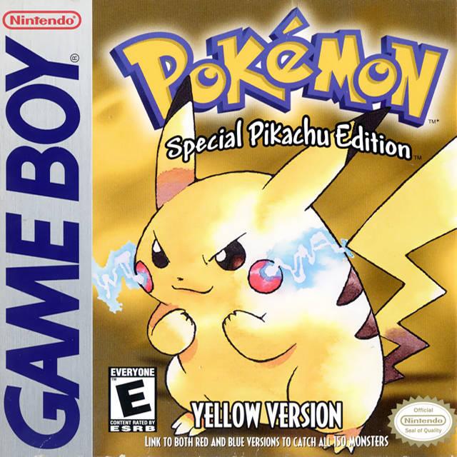 gameboy pokemon yellow version special pikachu edition faqs