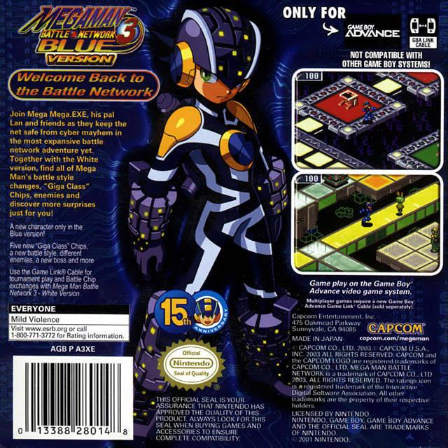 Megaman battle network 3