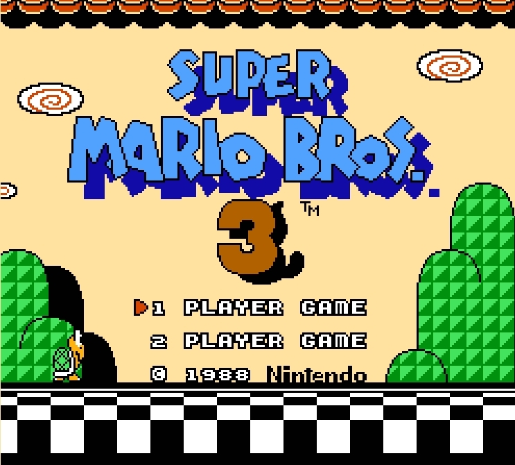Super Mario Bros. 3 (????????????3) Action