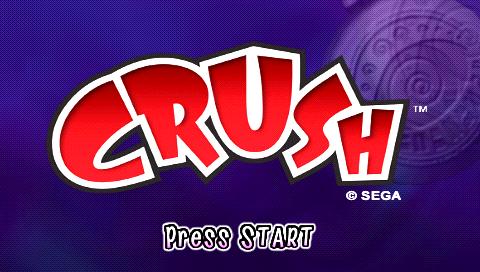 game crush playstation portable 2007 sega oc remix