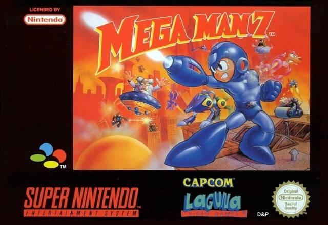 Mega Man 7 - Game: Front Cover (EU)