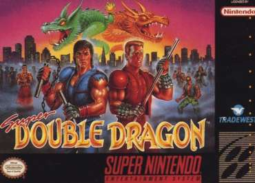 Super Double Dragon - Game: Front Cover