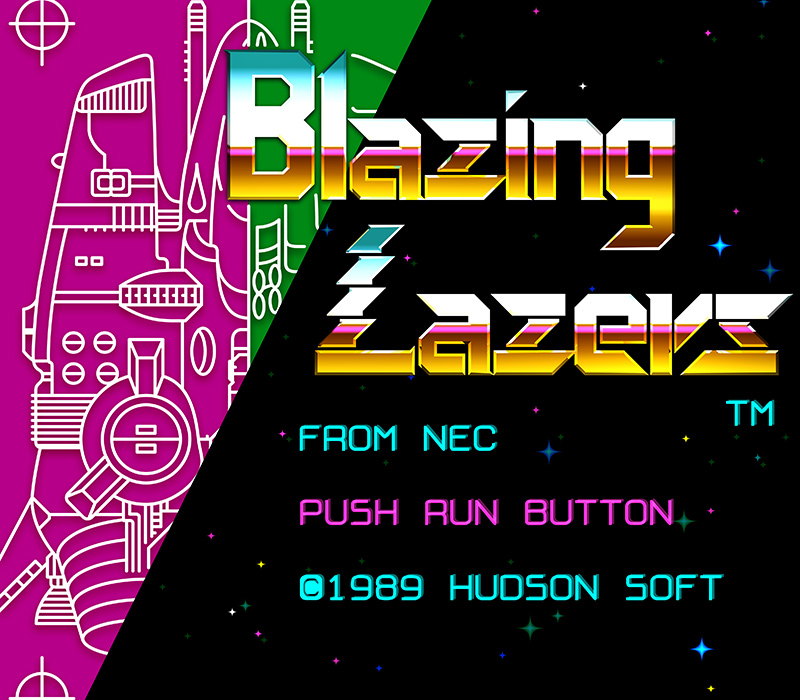 Game: Blazing Lazers (1989, Hudson Soft, TG16) - OverClocked ReMix