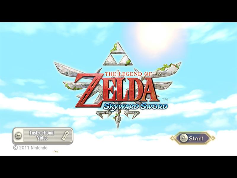 Game The Legend Of Zelda Skyward Sword Wii 2011
