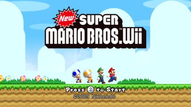 Game New Super Mario Bros Wii Wii 2009 Nintendo Oc