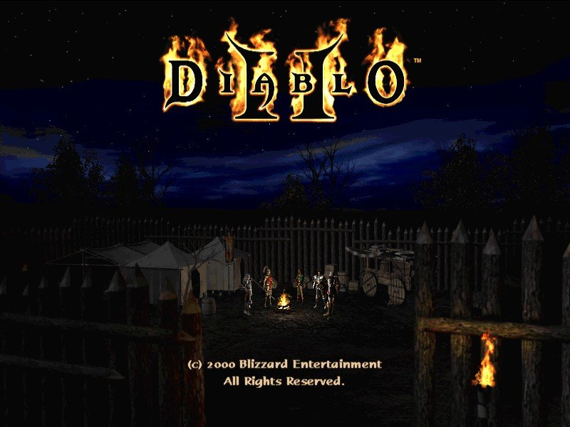 Game: Diablo II [Windows, 2000, Blizzard Entertainment ...