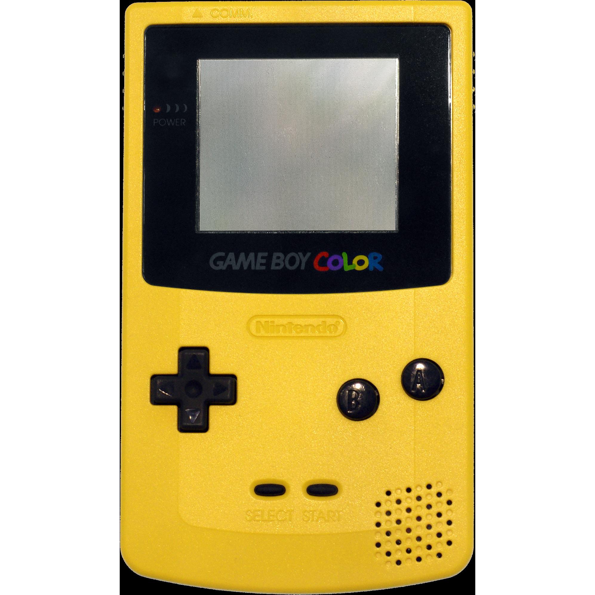 system game boy color handheld 1998 nintendo oc remix