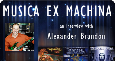 Alexander Brandon Interview Logo