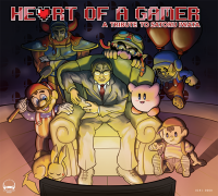 Heart of a Gamer - A Tribute to Satoru Iwata front cover