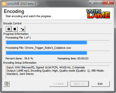 "Step 5: Underneath ""Encoding Control,"" click the arrow play button, and you're all set!"