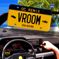 VROOM: Sega Racing front cover